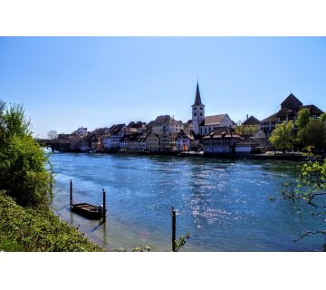 Short Hiking at High Rhine
